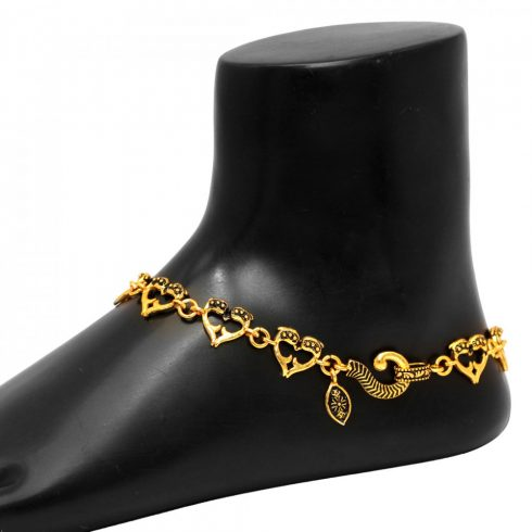 Gold Color Anklets