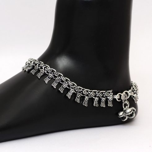 Silver Color Anklets