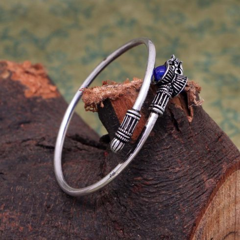 Damaru bracelet - Blue