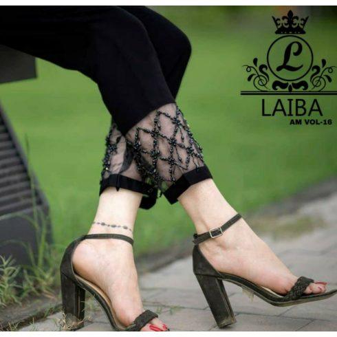 Black Laiba Cigarette Pants