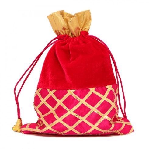 Magenta Potli Bag