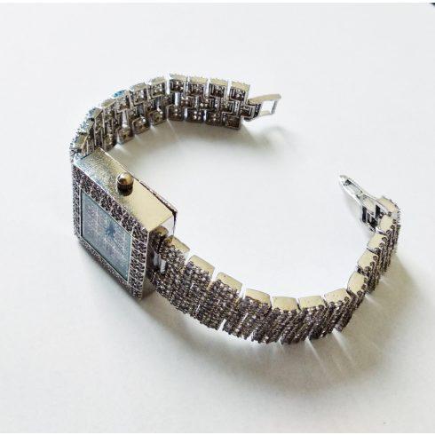 Silver Rhinestone Watch